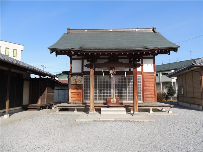 二柱神社【栃木県足利市】