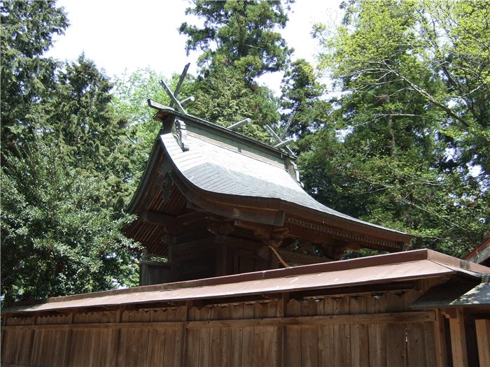 阿波山上神社
