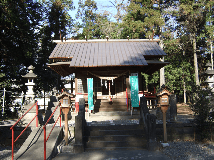 小坂子八幡神社【群馬県前橋市】